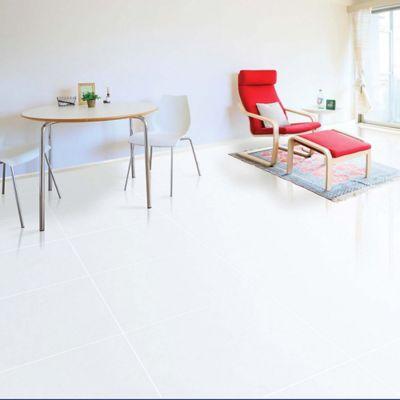 Piso Cerámica Nevado Blanco 55.2x55.2 cm caja 1.52 m2
