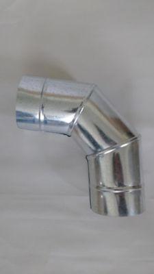 Codo 90x4.5Pg Lámina Galvanizada Cal 24
