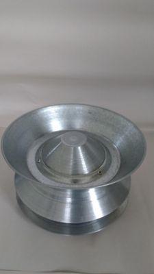 Deflector 4Pg Lámina Galvanizada Cal 24