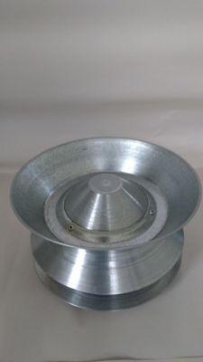 Deflector 4.5Pg Lámina Galvanizada Cal 24