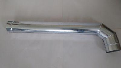 Codoductor 4Pgx1m Lámina Galvanizada Cal 24