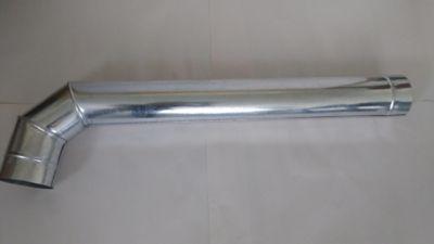 Codoductor 4.5Pgx1m Lámina Galvanizada Cal 24
