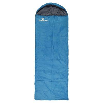 Saco de Dormir 220 x 75 cm Con Gorro Turquesa