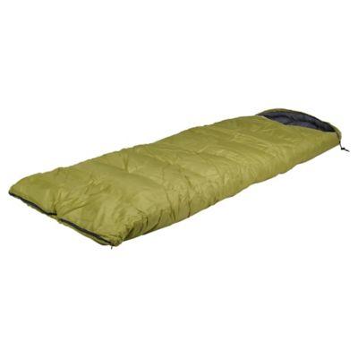 Saco de Dormir 220 x 75 cm Con Gorro Pistacho