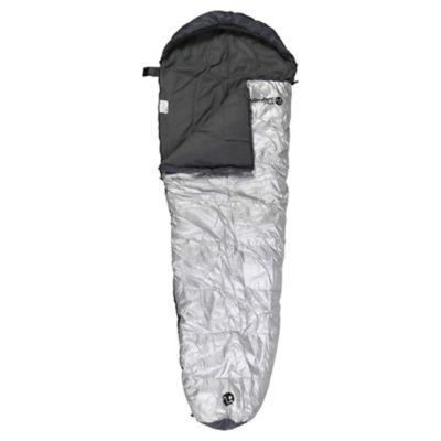 Saco de Dormir 230 x 80 cm Momia Gris