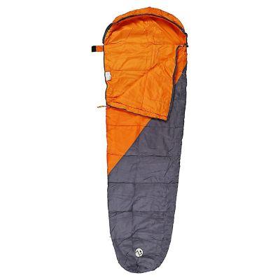 Saco de Dormir 220 x 75 cm Micro Bag Naranja Con Gris