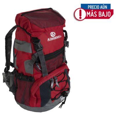 Mochila para Camping Rasac 35 Litros Rojo con Gris