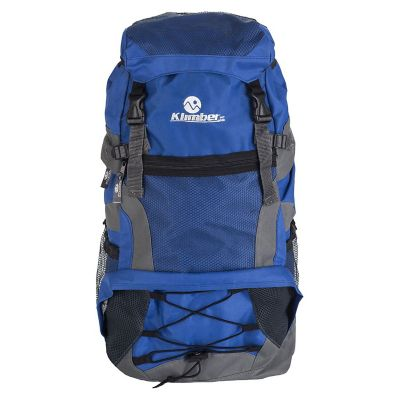 Mochila para Camping Rasac 55 Litros Azul con Gris
