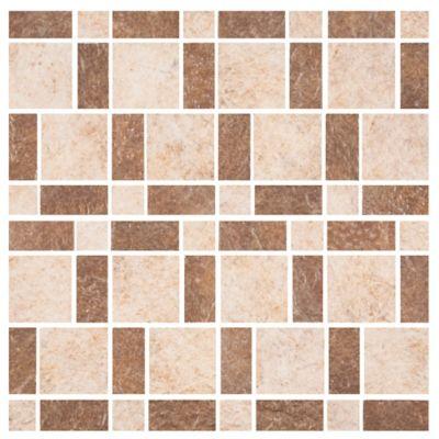 Mosaico Cerámico Santa Bárbara 30x30 Centímetros Beige