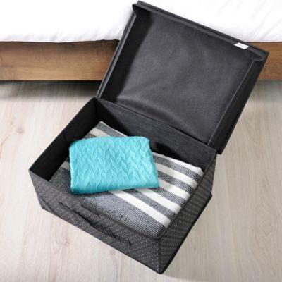 Caja Organizadora 20x40x30 cm Negro