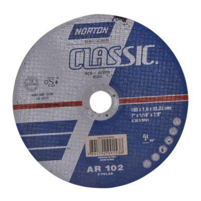 Disco Abrasivo Corte Metal Aceros 7pgx1.6mm North 66252843904