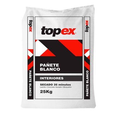 Pañete Blanco Interiores 25kg