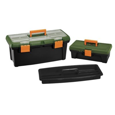 Kit Caja de Herramientas 22 Pulgadas + Organizador 14 Pulgadas