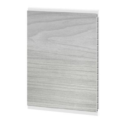 Cieloraso pvc, lámina de 3m2 catedral gris oscur, lámina de 3m x 25cm, Paq x 4 láminas