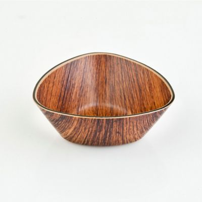 Bowl Triangular 10Cm Wooden