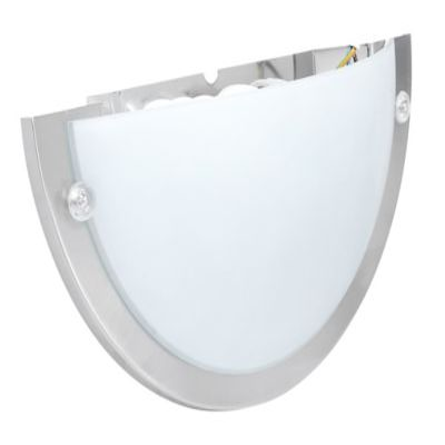 Aplique Aura 27cm 1 Luz E27 Satin Vidrio