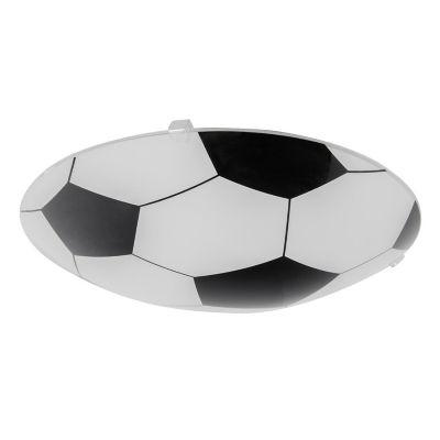Plafón Futbol 25cm 1 Luz E27 Vidrio