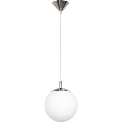 Lámpara Colgante Rondo 1 Luz E27 20cm Blanco