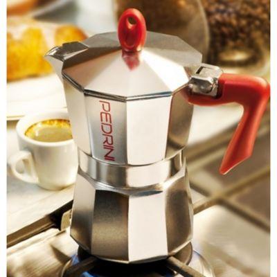 Cafetera 3 Tazas Aluminio Abrillantado