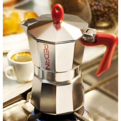 Cafetera 9 Tazas Aluminio Abrillantado