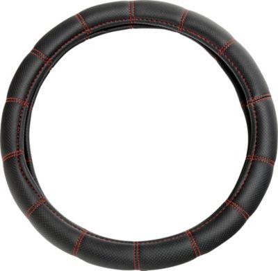 Cubre Timón Negro/Rojo