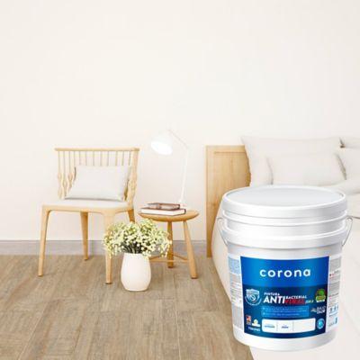 Pintura para Interior Antibacterial Satinada Blanco 5 Galón