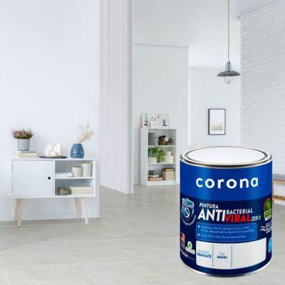 Pintura para Interior Antibacterial Blanco 1/4 Galón