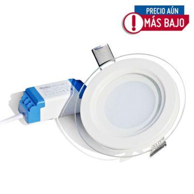 Bala LED Con Vidrio Redondo 510 Lúmenes 30.000 Horas Vida Útil 6w Luz Fría