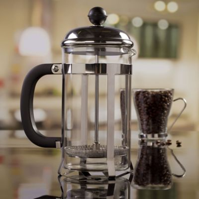 Cafetera a Presión en Vidrio de 600 cc