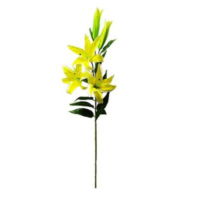 Flor Artificial Ramo De Lirio