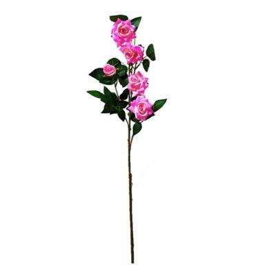 Ramo De Rosas Artificiales  x 5