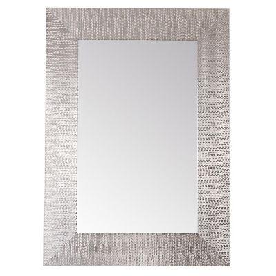 Espejo Decorativo 50x70 cm Plateado