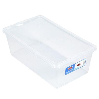 Caja Organizadora Modubox 20x12x34 cm 6 Lt Transparente