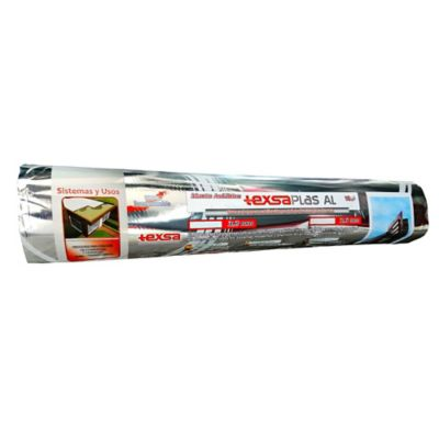 Manto Texsaplas AL 3.6mm Foil Aluminio 10mt2