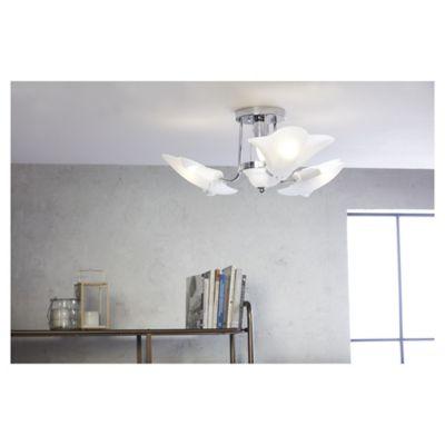 Lámpara Colgante Turin 4 Luces Rosca E27 Montecarlo