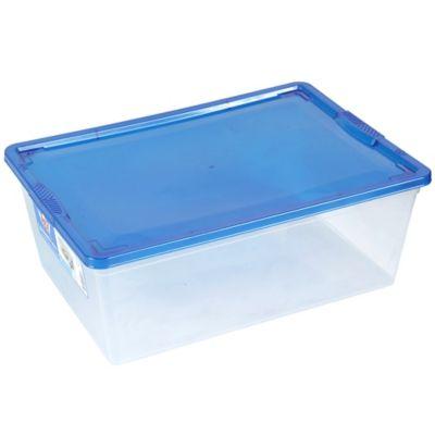 Caja Organizadora Modubox 26x13x38 cm 10.3 Lt Transparente