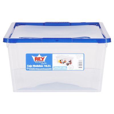 Caja Organizadora Modubox 34,9x27x42,2 cm 30 Lt Transparente