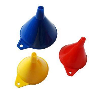 Set de 3 Embudos Plásticos