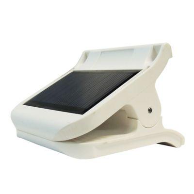 Clip de Luz Led Recargable con Panel Solar