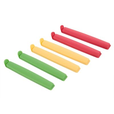 Clip Cierra Bolsas Grande X6und Colores
