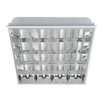 Lampara Especu T8 Incrustar 60x60 4x18w