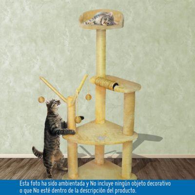 Gimnasio Para Gatos 4 Niveles 120 cm
