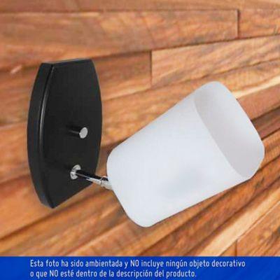 Aplique para Pared 1 Luz Rosca E27 Madera Escualizable