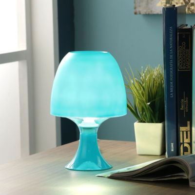 Lampara De Mesa 1L E14 Azul