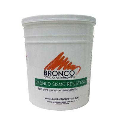 Bronco Sismo Resistente 30kg