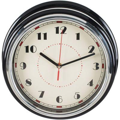 Reloj Negro Chrome