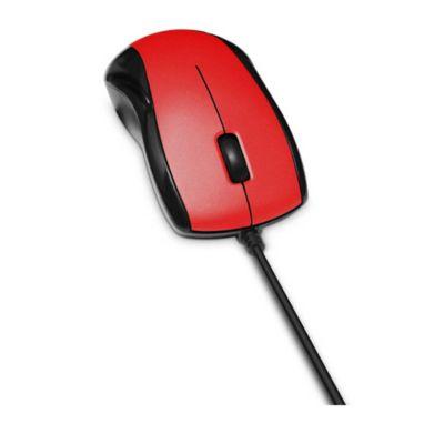 Mouse Mowr101 Optico Rojo