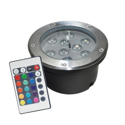SP BALA PISO LED 1000Lm 10w COLORES RGB