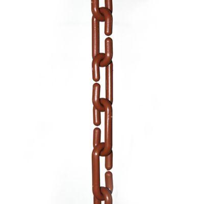 Cadena Plástica Eslabonada marrón x 3m