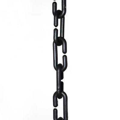 Cadena Plástica Eslabonada negra x 3m